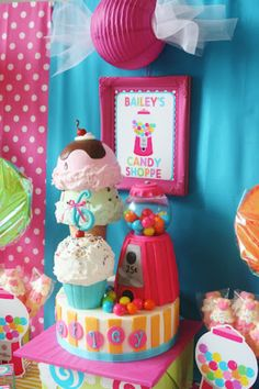 a Sweet Shoppe Party or Lollipop Party!