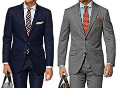 Suitsupply 2/3 Roll Washington & Napoli Mid Grey | Most Wanted Affordable Style on Dappered.com