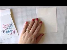 Gradient Stamping Using the MISTI for StampNation's Virtual Retreat - YouTube