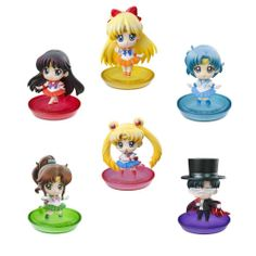 PREORDER Puchi Chara Series Sailor Moon! Puchi to Oshiokiyo! BOX  Hay dos packs A y B (no se pueden elegir) de 6 figuras/BOX. Vienen 6 figuras en total (5 figuras de un set + lucky item (que puede ser o bien Luna o Artemis))  Precio otras tiendas: 3150 yen. Precio Todoke: 2799 yen  Preview de las figuras en 360 grados!!!⬇ http://www.megahobby.jp/360/1310/007/Preview.html  RESERVALO EN TODOKE: http://todoke.jp.net/order.html
