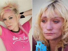 meth addictions he looks so familiar! Wasn't she on some reality show? Anyone?