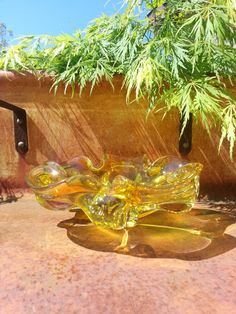 Murano Avventurina Glass Bowl by Toso by fcollectables on Etsy