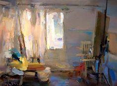Interior #112 - Oil on canvas, 41x55 cm. Private collection.