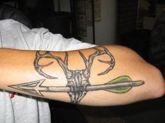 Cool Arrow Tattoo Design for Guys