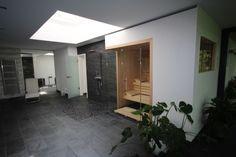 Dachschr Ge Und Sauna Bad Pinterest Saunas
