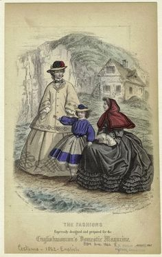 In the Swan's Shadow: Englishwoman's Domestic Magazine, August 1862. NYPL Digital Gallery.