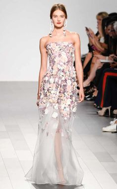 Badgley Mischka from Best Looks from NYFW Spring 2018