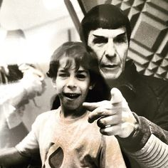 """I remember this day like it was yesterday. He let me call """"Action"""" and """"Cut"""" all day on the set of Star Trek VI. Miss him so much. Happy Fathers Day. LLAP."""