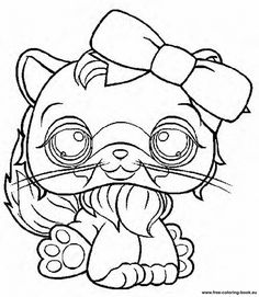 Coloring pages Littlest Pet Shop - Page 1 - Printable Coloring Pages Online