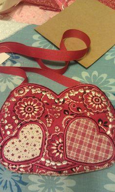 western themed Valentine purse