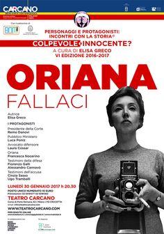 ORIANA FALLACI | Teatro Carcano