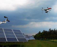Otestovali jsme úspěšně termodiagnostiku FVE s pomocí dronu — Aktuality — eicero Kingfisher, Solar, Outdoor Decor, Image, Common Kingfisher, Sun
