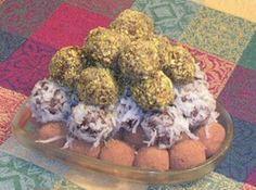 Peanut Butter Rum Balls: Truffles
