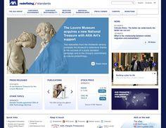 AXA Group Web Site - Home Page    (via http://www.axa.com/en/ )