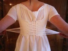 Kleidung um 1800: Half Stays a la Paresseuse