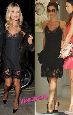 Vestido lencero de Louis Vuitton: ¿Victoria Beckham o Kate Moss?