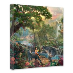 Thomas Kinkade Jungle Book Gallery Wrap Canvas Thomas Kinkade http://www.amazon.com/dp/B00F59GU9Q/ref=cm_sw_r_pi_dp_7cQTtb0RM6J3CZYF $84.95 and free shipping