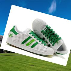 Adidas Originals Adicolor Trainers Mens White,Green,Stylish trainers hot sale with 80% off right here.