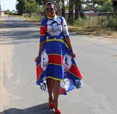 Swati Dress | Love #Swati #Swaziland #Swazi #SwatiWomen #AfricanFashion African Wedding Attire, African Attire, African Wear, African Women, African Print Clothing, African Print Dresses, African Dress, African Traditional Dresses, Traditional Outfits