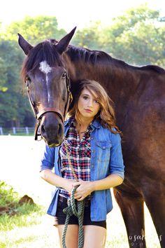 Jenna and Kodak » Jessica Sanders Photography - horse & rider portraits, New Jersey horse portraits, senior portraits with horses