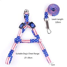 This lead Leash is adjustable, suit for small dogs. Polyester Harness Collar Leash Lead with Trainging Lead Chain. Pet Puppy, Pet Dogs, Dog Cat, Pets, Cheap Pet Supplies, Cat Harness, Puppy Collars, Medium Dogs, Dog Leash
