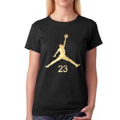 546d2662 Air Jordan Gold in a Stone for Women T-Shirt #BrandNew #GraphicTee Jordan