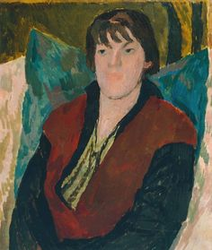 [thoroughly] MODERN KLATCH: Virginia's Sister - Portrait by Vanessa Bell via Tate