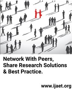 Network with peers, share research solutions and best practice | IJAET