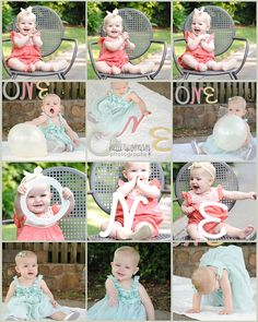 One year birthday pictures | Kellerwoman Photography - I know this is a little girl, but these are adorable!