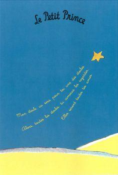 Le Petit Prince - Mon étoile, ca sera pour toi une des éto… Prince Nursery, The Little Prince, Trendy Wallpaper, Quotable Quotes, Good Books, Quotations, Language, Inspirational Quotes, Teaching