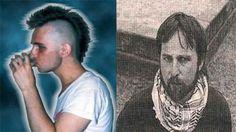 hari B, el primer punk argentino...