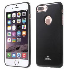 Coque Mercury Jelly Case pour iPhone 7 Plus noir