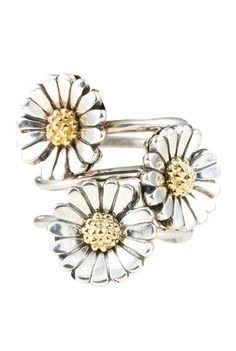 Crazy for Daisies!   Trollbeads Daisy Ring