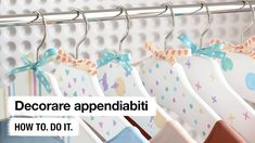 Do it + Garden: Appendiabiti personalizzati. How to. Do it. Clothes Hanger, Blog, Garden, Youtube, Clothes Hangers, Original Gifts, Creative Crafts, Tips And Tricks, Tutorials