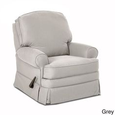 Klaussner Furniture Made to Order Bingham Swivel Gliding Reclining Chair (Bingham Swivel Gliding Reclining Chair -