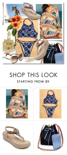 """""""TwinkleDeals: Bikini"""" by andrea2andare ❤ liked on Polyvore featuring Amuse Society"""
