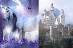 Build a Castle and We'll Tell You What Kind of Unicorn You Are Unicorn Quiz, Fun Quizzes To Take, Random Quizzes, Types Of Mermaids, Warrior Cats Clans, Castle Unicorn, What Animal Are You, Types Of Dragons, Mythical Dragons
