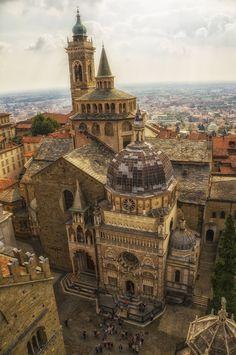 Eglise à Bergame, Lombardie, Italie