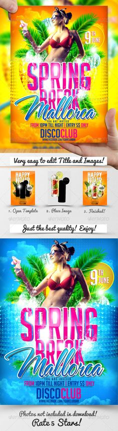 Spring Holidays Flyer Template Spring Holidays Flyer Template T ., Break outfits night Spring Holidays Flyer Template Spring Holidays Flyer Template T . Spring Break Vacations, Spring Break Destinations, Spring Break Quotes, Spring Template, Spring Break Party, Outdoor Fun For Kids, Flyer Layout, Party Flyer, Holidays And Events