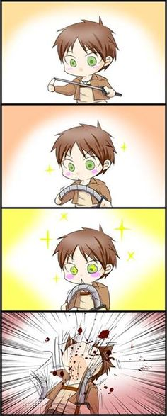 How come I have a feeling this would happen if Eren became bored?
