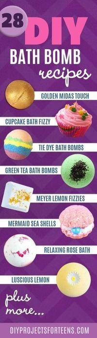 The 28 Most Fabulous DIY Bath Bomb Recipes Ever! easy diy bath bombs - Easy Diy Crafts The 28 Most Fabulous Diy Bath Bomb Recipes Ever! # Easy DIY bath bombs The 28 Most Fabulous Diy Bath Bomb Recipes Ever! Diy Spa, Diy Beauté, Easy Diy, Fun Diy, Bath Bombs, Shower Bombs, Bath Shower, Green Tea Bath, Diy Savon