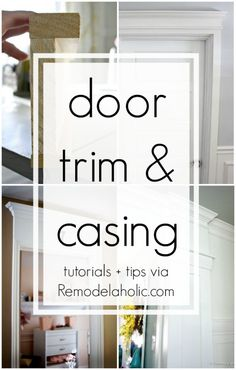 DIY Door Trim and Ca