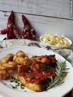 Pikáns, paradicsomos csirkeszárnyak   Tétova ínyenc Tandoori Chicken, Ethnic Recipes, Food, Essen, Meals, Yemek, Eten