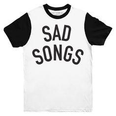 Sad Songs Two Tone Tee | Stay Home Club