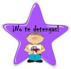 Fichas de Primaria: Estímulos con estrellas Good Job, Early Childhood, Congratulations, Classroom, Teacher, Holiday Decor, School, Spanish, Speech Pathology