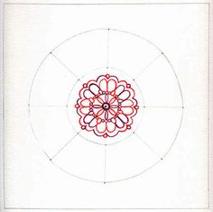 Draw your own mandala instructions
