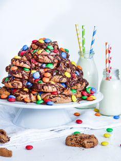 Chocolate Chip Cookie, M&M' s und Nutella Geburtstaguchen | Meine Küchenschlacht
