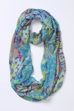 A little on the pricy side for me but love the colors!  Peony Pop Loop - Anthropologie.com