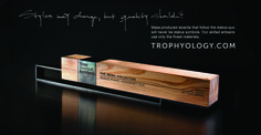 Are you looking for a unique custom trophy that is sure to leave a lasting impression and represent your organization's brand and values in style? Then let Trophyology be your trophy maker! We bring architectural design excellence and artisanal craftsmanship to the world of recognition and would be honored to create unique and personalized awards and plaques for you!
