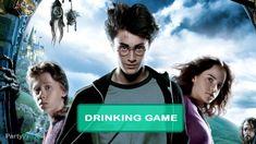 Harry Potter and the Prisoner of Azkaban Drinking Game Slytherin Harry Potter, Harry Potter Facts, Harry Potter Movies, Hogwarts, Ravenclaw, Draco Malfoy, Hermione Granger, Severus Snape, Drinking Game Rules